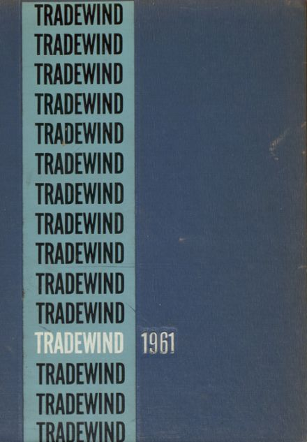 1961 Minneapolis Vocational Yearbook Cover