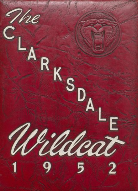 1952 Clarksdale High School Yearbook Cover