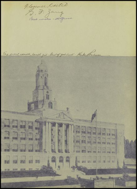 1942 Franklin K. Lane High School Yearbook Page 3