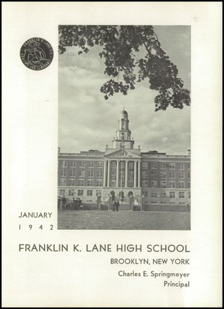 1942 Franklin K. Lane High School Yearbook Page 5