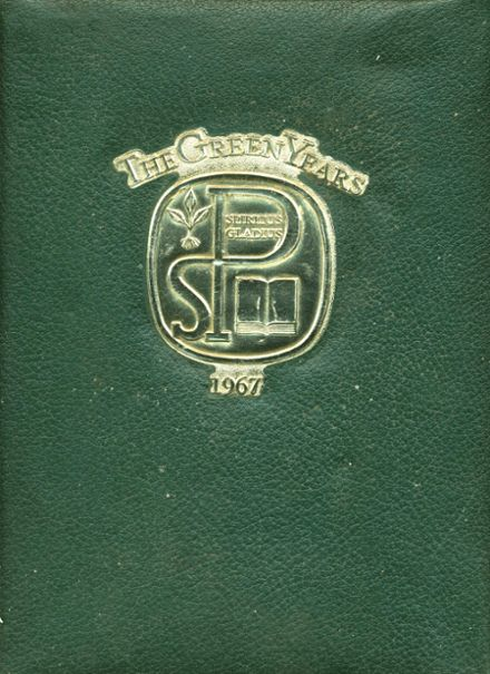 1967 St. Paul's High School Yearbook Cover