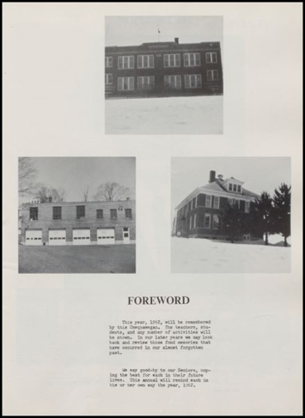 1962 Rib Lake High School Yearbook Page 7