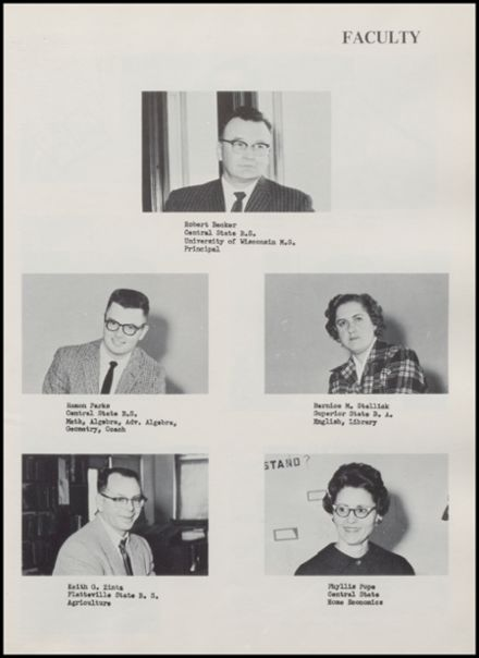 1962 Rib Lake High School Yearbook Page 9