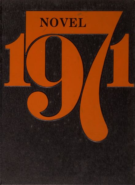 1971 Waverly High School Yearbook Cover