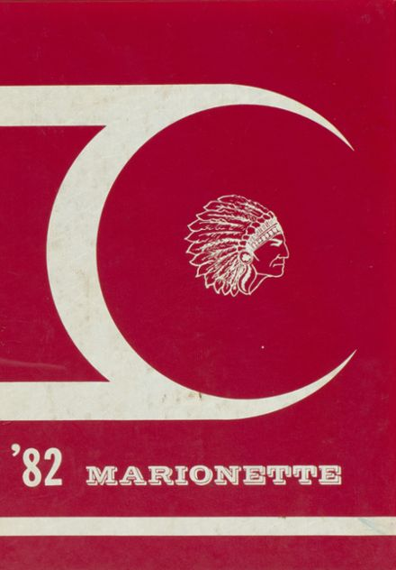 1982 Marion County High School Yearbook Cover