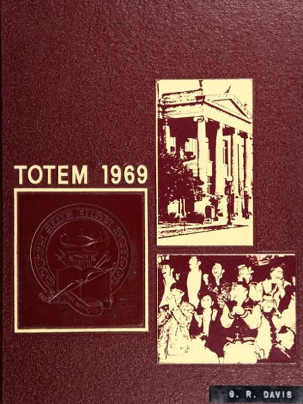 1969 South Side High School Yearbook Cover