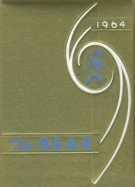 1964 Central Valley High School Yearbook Cover