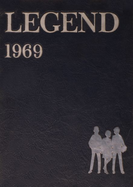 1969 East High School Yearbook Cover