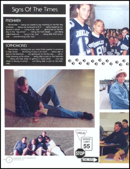 1995 John Glenn High School Yearbook Page 6