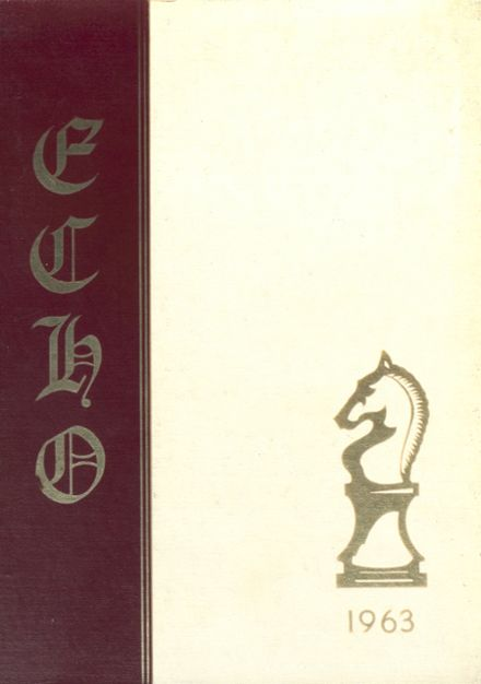 1963 Canton High School Yearbook Cover