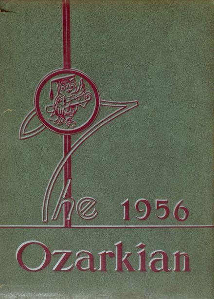 1956 Mountain Grove High School Yearbook Cover