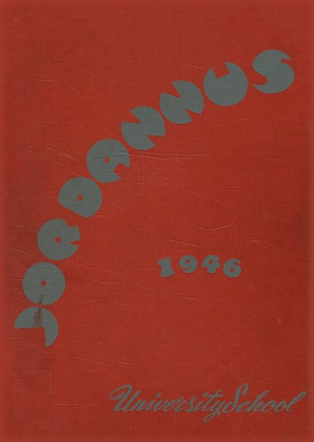 1946 Indiana University High School Yearbook Cover