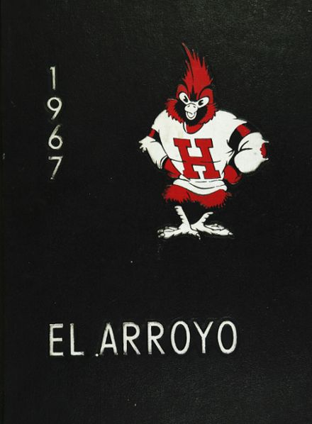 1967 Harlingen High School Yearbook Cover