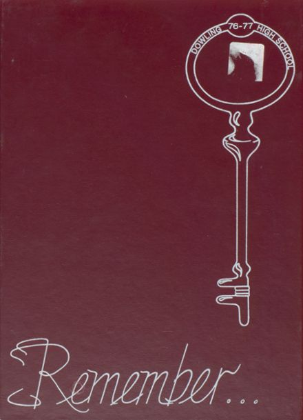 1977 Dowling High School Yearbook Cover