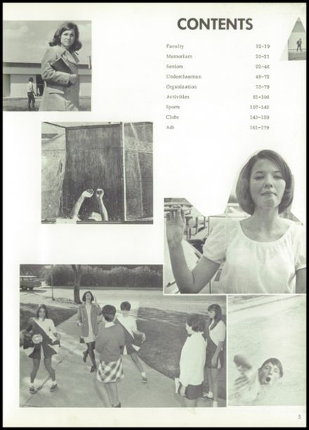 1970 Ceres High School Yearbook Page 9
