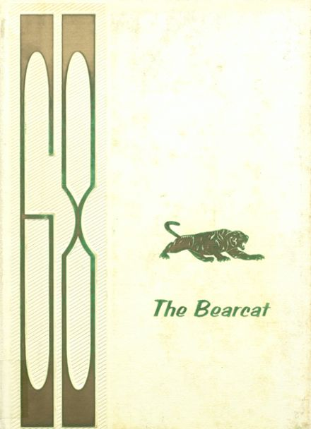 1968 Mann High School Yearbook Cover