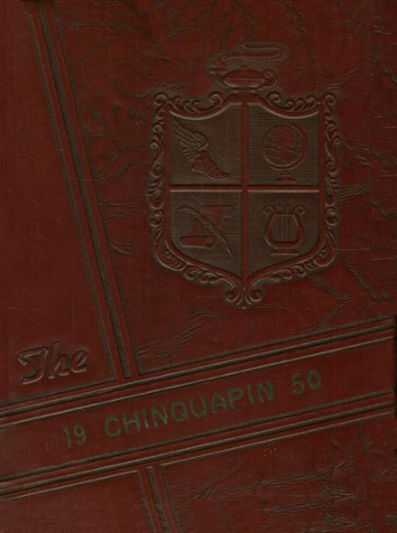 1950 Natchitoches High School Yearbook Cover
