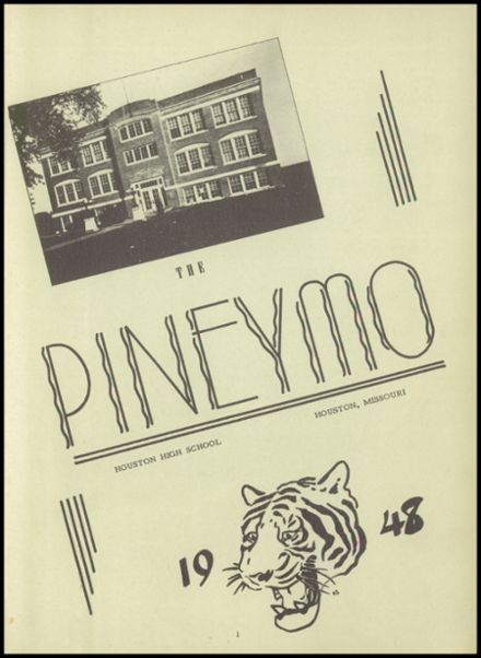 1948 Houston High School Yearbook Page 5