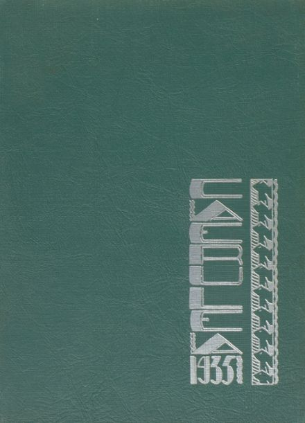 1935 Long Beach Polytechnic High School Yearbook Cover