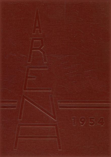 1954 Athens Christian High School Yearbook Cover