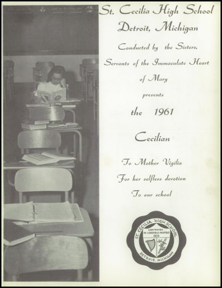 1961 St. Cecilia School Yearbook Page 5