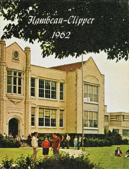1962 DuBois Area High School Yearbook Cover