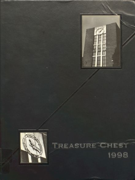 1998 Mepham High School Yearbook Cover