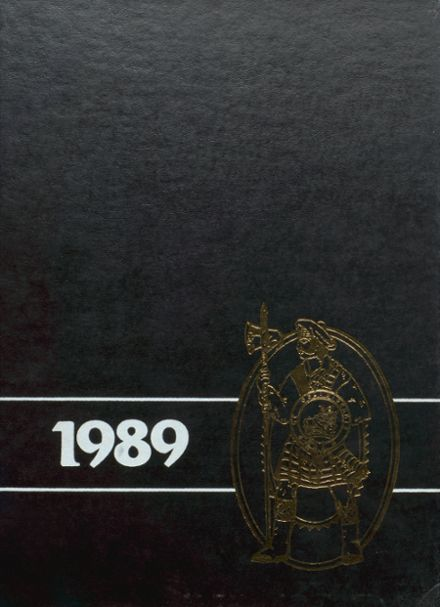 1989 Madison-Grant High School Yearbook Cover