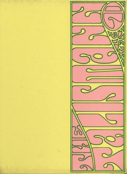 1971 Mann High School Yearbook Cover