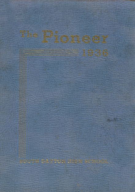 1936 Pine Valley Central High School Yearbook Cover