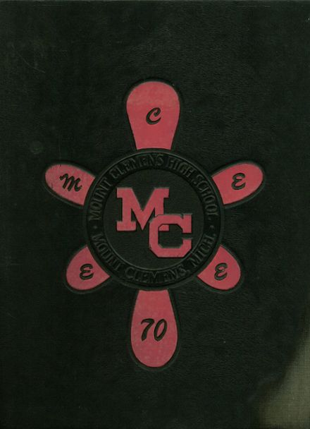 1970 Mt. Clemens High School Yearbook Cover