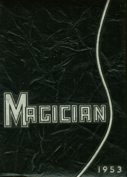 1953 Muncie Central High School Yearbook Cover