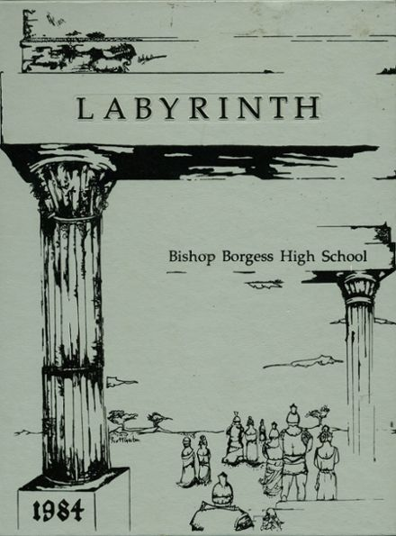 1984 Bishop Borgess High School Yearbook Cover