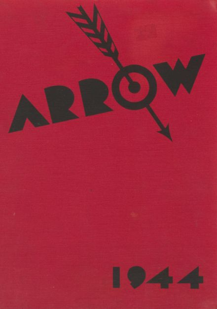 1944 Watertown High School Yearbook Cover