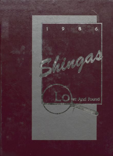1986 Beaver Area High School Yearbook Cover