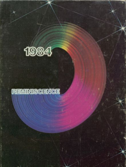 1984 Harrison High School Yearbook Cover