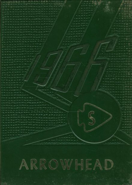 1966 Mt. Savage School Yearbook Cover