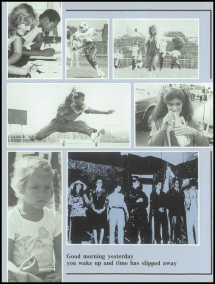 1983 Washington Township High School Yearbook Page 6