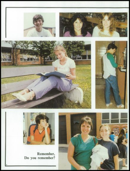 1983 Washington Township High School Yearbook Page 8
