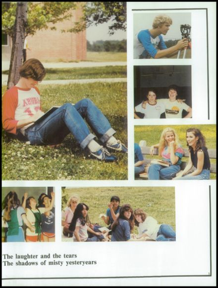 1983 Washington Township High School Yearbook Page 9