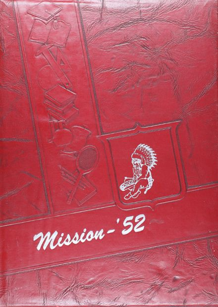 1952 Ripon High School Yearbook Cover