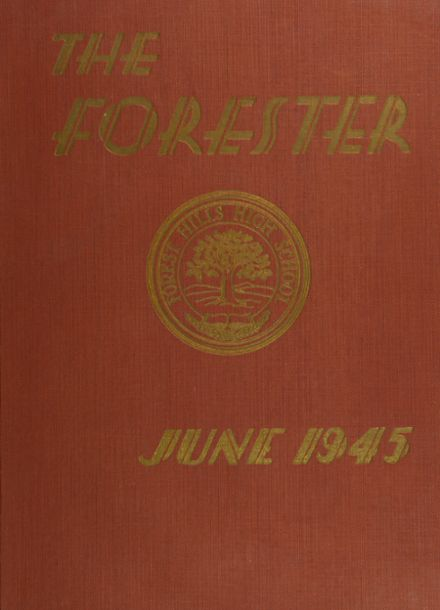 1945 Forest Hills High School Yearbook Cover