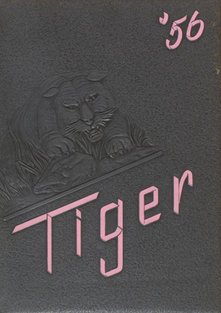 1956 Ripon High School Yearbook Page 1
