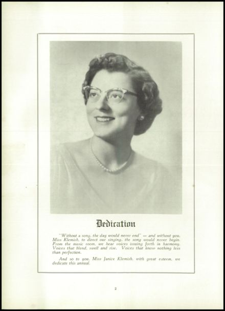 1956 Ripon High School Yearbook Page 6