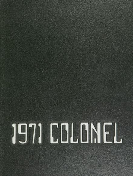 1971 William Fleming High School Yearbook Cover
