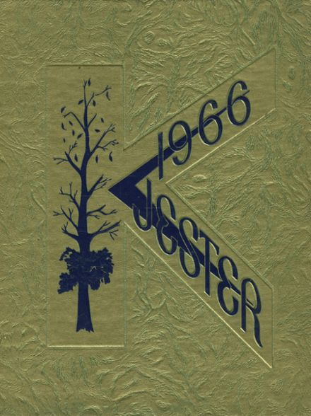 1966 Knoxville High School Yearbook Cover