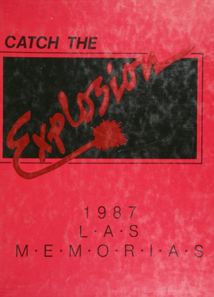 1987 Tascosa High School Yearbook Cover