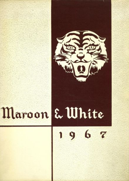 1967 Austin High School Yearbook Cover