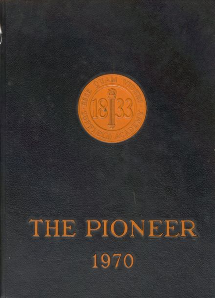 1970 Suffield Academy Yearbook Cover