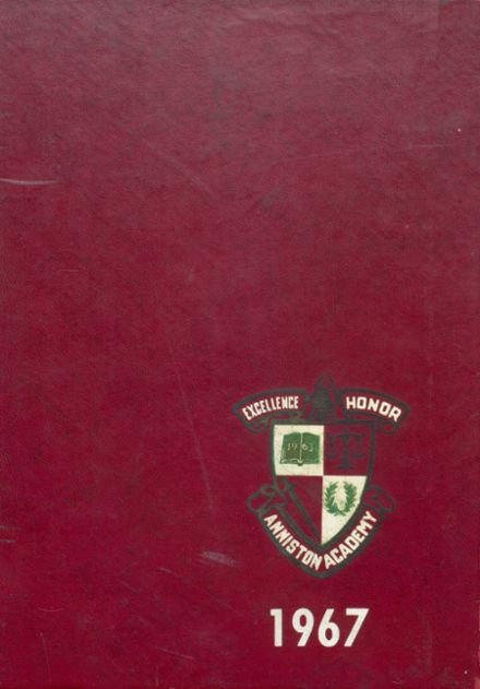 1967 Anniston Christian Academy Yearbook Cover